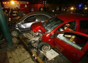 """Opecu: """"23 muertos y 126 heridos en 60 accidentes de tránsito en el país a cuatro días de las modificaciones al reglamento"""""""