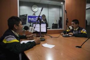 """""""Voces Escolares"""" ganó el premio Anda 2015 al mejor programa radial"""